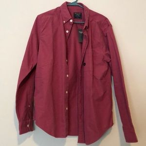 NWT Large Abercrombie dress shirt